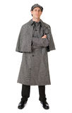 Sherlock: Detective Ready to Investigate Mysteries Stock Photo