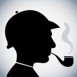 Sherlock Holmes royalty illustrazione gratis