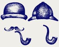 Sherlock Holmes Obraz Royalty Free