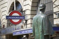 Sherlock Holmes Стоковая Фотография