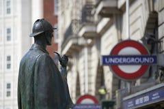 Sherlock Holmes Imagem de Stock Royalty Free