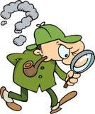 Sherlock Holmes Photo libre de droits