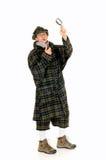Sherlock Holmes, crime scene Stock Photography