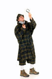 Sherlock Holmes, crime scene Royalty Free Stock Photo