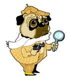 Sherlock holmes dog Stock Photography