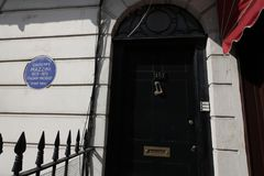 Sherlock Holmes house Stock Images