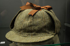 Sherlock Holmes kapelusz Obrazy Royalty Free