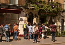 Sherlock Holmes museum Baker Street London Stock Images