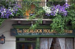 Sherlock Holmes Museum London photos libres de droits