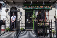 Sherlock Holmes Museum London Royalty Free Stock Photos