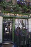 The Sherlock Holmes Museum in London Royalty Free Stock Image