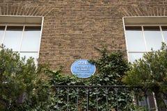 Sherlock Holmes Museum, rue 221b, Londres de Baker photo stock