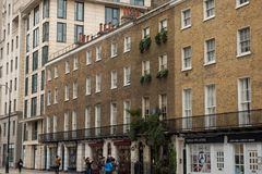 Sherlock Holmes Museum, rue 221b, Londres de Baker photographie stock