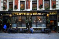 Sherlock Holmes Pub royaltyfri fotografi