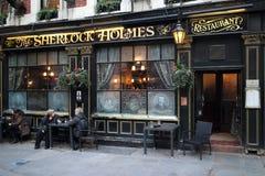 Sherlock Holmes Pub Royalty Free Stock Photos