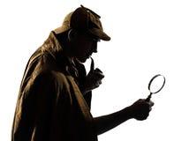 Free Sherlock Holmes Silhouette Stock Photo - 48601710