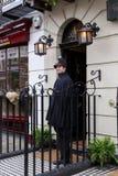Sherlock Holms Museum, Londen Stock Fotografie