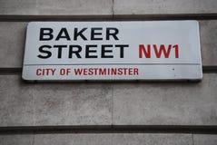 Sherlock Londyn Zdjęcia Stock