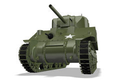 Sherman-Becken lizenzfreie abbildung