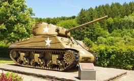 Sherman-Behälter stockbild