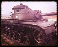 Sherman-Behälter des Zweiten Weltkrieges Lizenzfreies Stockbild