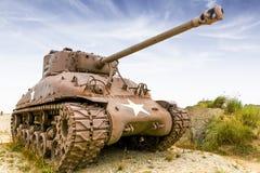 Sherman behållare Arkivbild