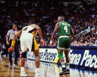 Sherman Douglas, Boston-Celtics Stockbild