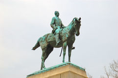 Sherman Statue Royalty Free Stock Images