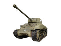 Sherman Tank. Vintage sherman tank from world war two Royalty Free Stock Photography