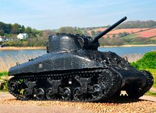 Sherman Tank Royalty Free Stock Photo