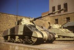 Sherman tank, Stock Images