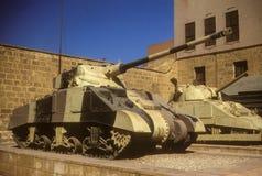 Sherman tank Stock Image