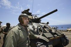 Sherman Tank Royalty Free Stock Image