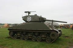 Sherman tank. Taken during the WW 2 rteenactments near where I live Royalty Free Stock Photography