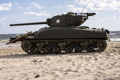 Sherman Tank  – WW II Royalty Free Stock Images