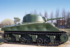 Sherman WW2 Tank Royalty Free Stock Photos