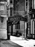 Shermans gränd Arkivbild