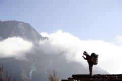 The Sherpa. 's life in Himalaya Khumbu Nepal Royalty Free Stock Image