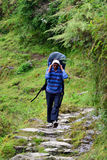 Sherpa in the Himalayas Stock Photography