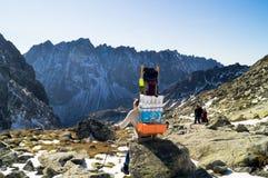 sherpa Narodny Tatransky parkerar tatry vysoke slovakia royaltyfri bild