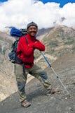 Sherpa Trekking guide, Nepal Royalty Free Stock Images