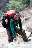 Sherpa trekking guide Royalty Free Stock Photos