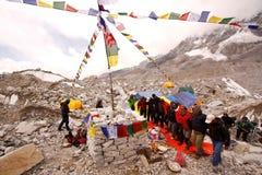 Sherpas dans Royaltyfri Foto