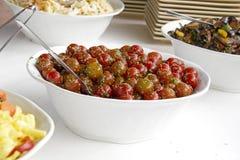 Sherry'ego pomidoru Sałatka Zdjęcie Stock