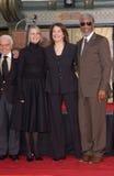 Sherry Lansing,Diane Keaton,Morgan Freeman Stock Photos