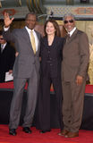 Sherry Lansing,Sidney Poitier,Morgan Freeman Royalty Free Stock Photography