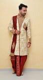 Sherwani tradicional - Índia Foto de Stock Royalty Free