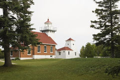 Sherwood Point Lighthouse. In Door county Wisconsin. summer 2007 Royalty Free Stock Images