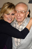 Sherwood Schwartz. Maureen McCormick and Sherwood Schwartz at the Another Opening, Another Show: A Celebration Of TV Theme Music presented by ATAS. The Leonard H Royalty Free Stock Photos