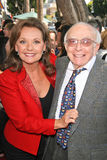 Sherwood Schwartz,Dawn Wells Royalty Free Stock Images